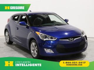 Used 2016 Hyundai Veloster 3DR CPE AC GR for sale in St-Léonard, QC