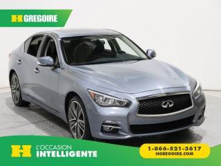 Used 2015 Infiniti Q50 Sport AWD for sale in St-Léonard, QC