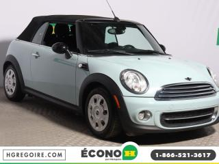 Used 2011 MINI Cooper CONVERTIBLE A/C for sale in St-Léonard, QC