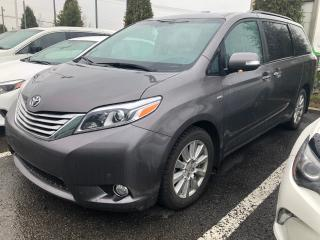 Used 2017 Toyota Sienna Ltd Awd Toit for sale in St-Eustache, QC