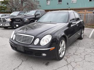 Used 2006 Mercedes-Benz E-Class LEATHER/SUNROOF/ALL WHEEL DRIVE for sale in Concord, ON