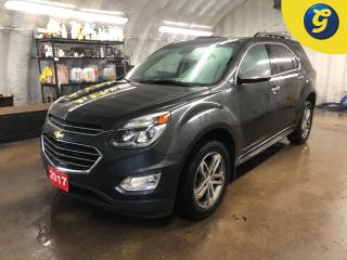Used 2017 Chevrolet Equinox Premier * AWD * Navigation * Sunroof * Leather interior * Remote start * Reverse camera * Phone connect * Voice recognition * 4G LTE wifi * ECO mode * for sale in Cambridge, ON
