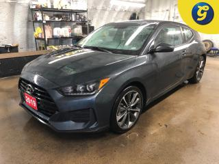 Used 2019 Hyundai Veloster Active ECO mode * SPORT/NORMAL/SMART modes * Reverse camera *  Blindspot assist * Touchscreen * Heated front seats/Steering wheel * Hands free steerin for sale in Cambridge, ON
