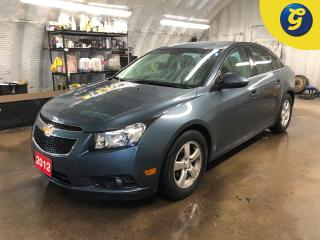 Used 2012 Chevrolet Cruze LT * Remote start * On star * Power windows/mirrors * Voice recognition * Phone connect * Hands free Steering wheel controls * Climate control * Trip for sale in Cambridge, ON