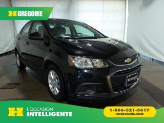 Used 2017 Chevrolet Sonic LT CAMERA BLUETOOTH for sale in St-Léonard, QC