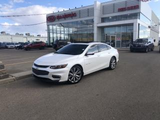 Used 2017 Chevrolet Malibu Premier don't pay for 6 months on now for sale in Red Deer, AB