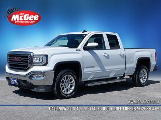 Used 2016 GMC Sierra 1500 SLE 5.3L, Z71, Htd Clth Bench, Fogs, Spray-in, 18