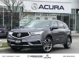 Used 2018 Acura MDX Navi CarPlay/Android *AUTO*, Power Liftgate for sale in Markham, ON