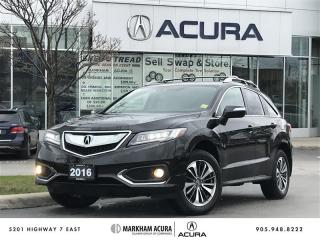 Used 2016 Acura RDX Elite at AWD, Navi, Vented Seats for sale in Markham, ON