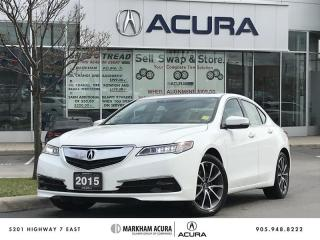 Used 2015 Acura TLX 3.5L SH-AWD w/Tech Pkg Navi, Heated Steering Wheel, Remote Start for sale in Markham, ON