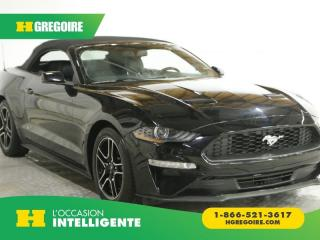 Used 2018 Ford Mustang ECOBOOST CABRIOLET for sale in St-Léonard, QC
