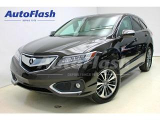Used 2017 Acura RDX Elite Gps Park for sale in St-Hubert, QC