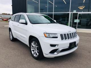 Used 2015 Jeep Grand Cherokee Summit for sale in Ingersoll, ON