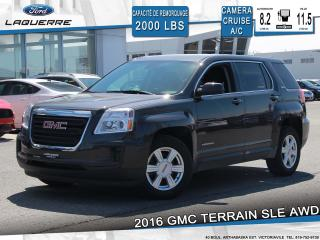 Used 2016 GMC Terrain SLE**AWD*CAMERA*BLUETOOTH*CRUISE*A/C** for sale in Victoriaville, QC