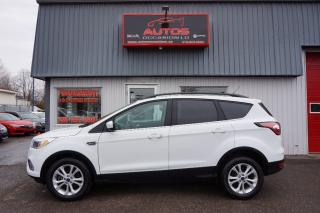 Used 2018 Ford Escape Se Awd 1.5 Ecoboost for sale in Lévis, QC