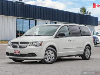 Used 2013 Dodge Grand Caravan SE,STOW-N-GO,ECON,DUAL CLIMATE for sale in Barrie, ON