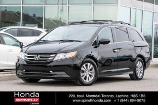 Used 2016 Honda Odyssey Ex-L Navi Cuir Toit for sale in Lachine, QC