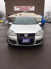 Used 2007 Volkswagen GTI for sale in Burlington, ON