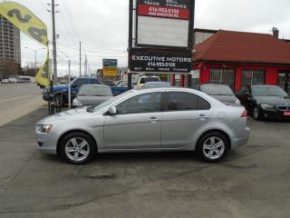 Used 2008 Mitsubishi Lancer ES/ ONE OWNER / ALLOYS / HEATED SEATS / CERTIFIED for sale in Scarborough, ON