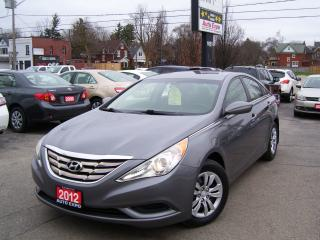 Used 2012 Hyundai Sonata GLS,Auto,A/C,Key less,Certified,No accident,AUX In for sale in Kitchener, ON