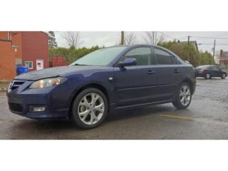 Used 2009 Mazda MAZDA3 GT for sale in St-Jérôme, QC