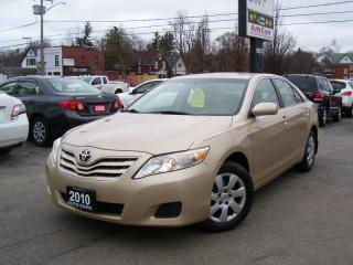 Used 2010 Toyota Camry LE,ONE OWNER,LOW KM'S,CERTIFIED,4 CYLINDER,CRUISE for sale in Kitchener, ON