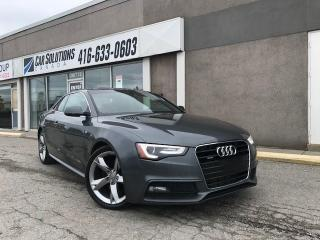Used 2013 Audi A5 Premium-S-LINE-AUTO for sale in Toronto, ON