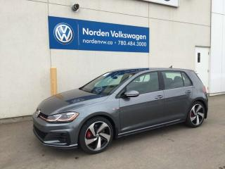 New 2019 Volkswagen Golf GTI Autobahn for sale in Edmonton, AB