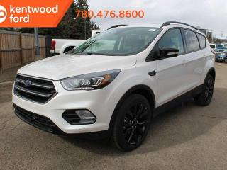 New 2019 Ford Escape TITANM 400A 2.0L Ecoboost 4WD, Titanium Sport Appearance PKG, Panoramic Vista Roof, Fordpass Connect, Heated Steering Wheel, Navigation, Keyless Entry, Reverse Camera System, Active Park Assist. for sale in Edmonton, AB
