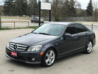 Used 2010 Mercedes-Benz C-Class C 300 | ACCIDENT FREE|AWD|BACK-UP CAM for sale in Cambridge, ON