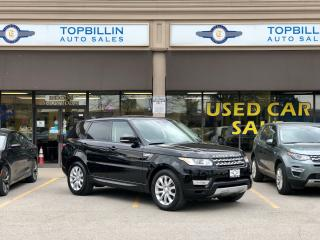 Used 2015 Land Rover Range Rover Sport V6 HSE, Auto Pilot Park, Navi, Blind Spot for sale in Vaughan, ON