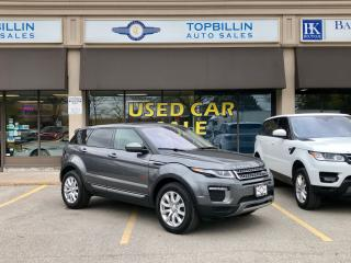 Used 2016 Land Rover Range Rover Evoque Navigation, SkyRoof, Backup Cam for sale in Vaughan, ON