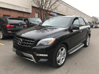 Used 2015 Mercedes-Benz ML-Class ML 400, DISTRONIC+, NO ACCIDENT for sale in North York, ON