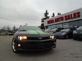 Used 2015 Chevrolet Camaro 2LT  AUTO NAVIGATION B-TOOTH B-CAM NEW TIRES+BRAK for sale in Oakville, ON