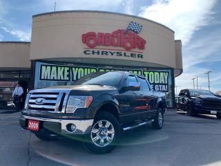 Used 2009 Ford F-150 XLT+CREW+4X4+CHROME WHEELS+LOADED for sale in Toronto, ON