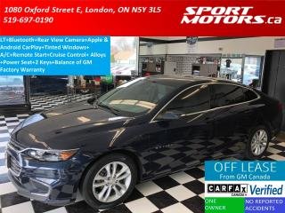 Used 2016 Chevrolet Malibu LT+Apple Play+Camera+Remote Start+Bluetooth for sale in London, ON