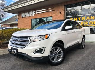 Used 2016 Ford Edge SEL AWD Navi Pano Sunroof Heated Seats Certi* for sale in Concord, ON