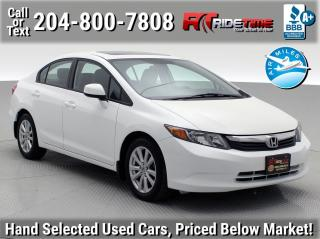 Used 2012 Honda Civic Sdn EX-L for sale in Winnipeg, MB