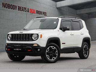 Used 2017 Jeep Renegade Trailhawk*Cold Weather GP*Pass Entry*Fresh Brakes for sale in Mississauga, ON