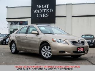 Used 2007 Toyota Camry HYBRID | LEATHER | SUNROOF | BLUETOOTH for sale in Kitchener, ON