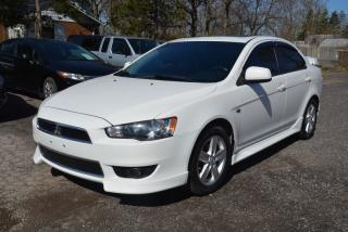 Used 2013 Mitsubishi Lancer SE, manual transmission, upgrades, no accidents for sale in Halton Hills, ON