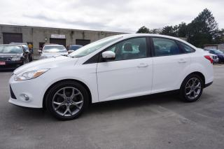 Used 2013 Ford Focus SE SEDAN AUTO CERTIFIED 2YR WARRANTY HEATED AUX BLUETOOTH ALLOYS CRUIZE for sale in Milton, ON