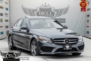 Used 2016 Mercedes-Benz C-Class C 300, AMG PKG, PANO ROOF, NAVI, BACK-UP CAM, BLIND SPOT, for sale in Toronto, ON