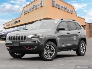 New 2019 Jeep Cherokee Trailhawk  - Navigation -  Uconnect - $243.44 B/W for sale in Brantford, ON