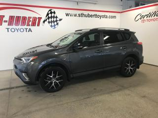 Used 2017 Toyota RAV4 Se, Cuir, T.ouvrant for sale in St-Hubert, QC