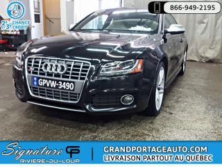 Used 2012 Audi S5 QUATTRO *PREMIUM*, V8 S-TRONIC *CLEAN* for sale in Rivière-Du-Loup, QC