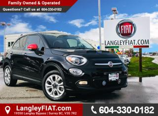 Used 2016 Fiat 500 X Sport No Accidents, Low KMs, B.C Owned! for sale in Surrey, BC