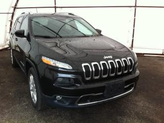 Used 2015 Jeep Cherokee Limited NAVIGATION, FULL LEATHER HEATED SEATING, REVERSE CAMERA, SUNROOF for sale in Ottawa, ON
