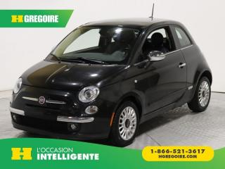 Used 2013 Fiat 500 LOUNGE A/C GR for sale in St-Léonard, QC