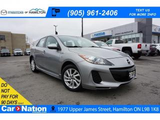 Used 2013 Mazda MAZDA3 GS-SKY | HEATED SEATS | BLUETOOTH | CRUSE CONTROL for sale in Hamilton, ON